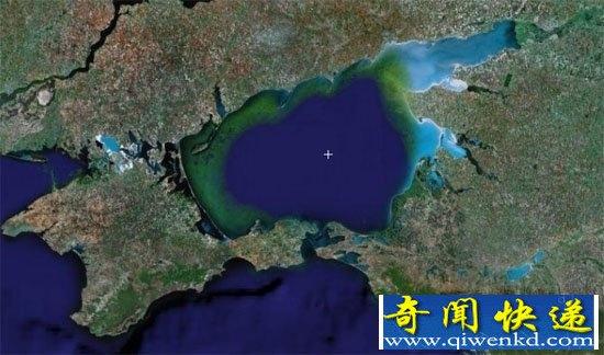 """世界上最浅的海""""亚速海""""平均8米"""